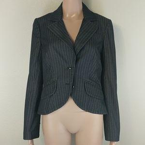 [Trina Turk] Striped Ball Blazer Jacket